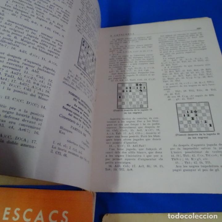 Coleccionismo deportivo: Revista de ajedrez el escacs a catalunya.numeros 6,61,109-110,113-114 - Foto 5 - 210153611
