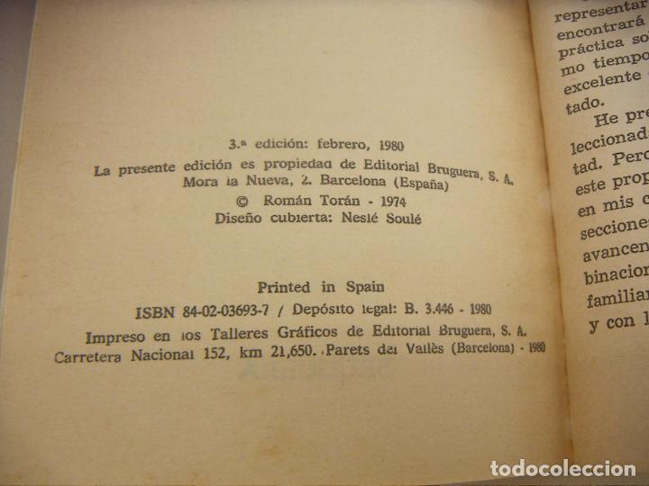 Coleccionismo deportivo: PROBLEMAS DE AJEDREZ 1 ROMAN TORAN - Foto 2 - 210191975