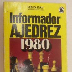 Coleccionismo deportivo: INFORMADOR AJEDEZ 1980.COMENTARIOS DE ÁNGEL MARTÍN. Lote 210192248