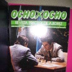 Colecionismo desportivo: LOTE 10 REVISTAS DE AJEDREZ OCHO X OCHO ( INCLUYE ARCHIVADOR ). Lote 210206083