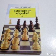 Collectionnisme sportif: AJEDREZ.CHESS. ESTRATEGIA EN EL AJEDREZ. TODAS LAS RESPUESTAS.. Lote 210347577