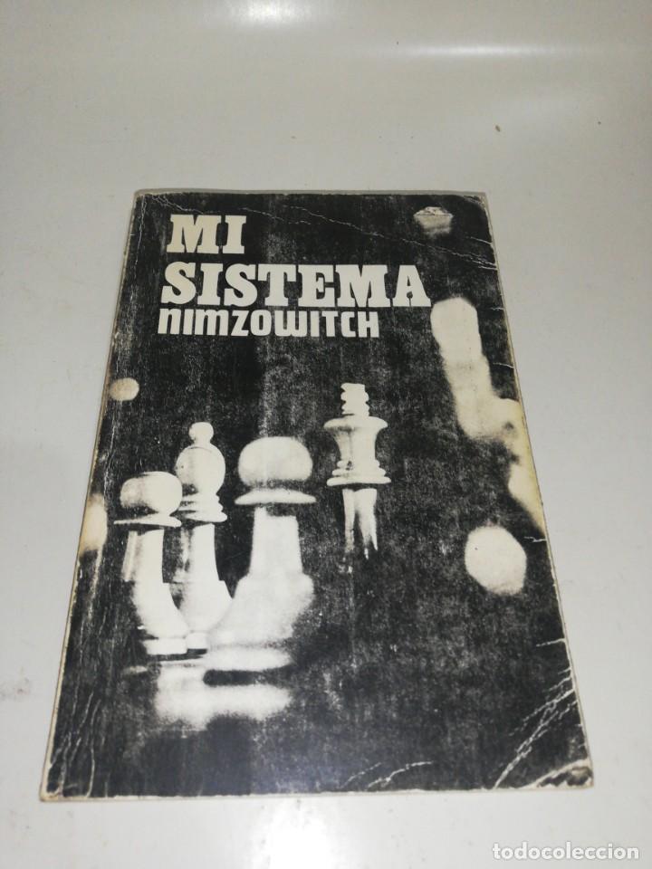 NIMZOWITCH - MI SISTEMA (Coleccionismo Deportivo - Libros de Ajedrez)