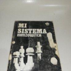 Coleccionismo deportivo: NIMZOWITCH - MI SISTEMA. Lote 210529258