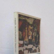 Coleccionismo deportivo: LECCIONES ELEMENTALES DE AJEDREZ - J.R. CAPABLANCA. Lote 210691240