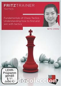 AJEDREZ. FUNDAMENTALS OF CHESS TACTICS UNDERSTANDING HOW TO FIND AND WIN WITH TACTIC - QIYU ZHOU DVD (Coleccionismo Deportivo - Libros de Ajedrez)