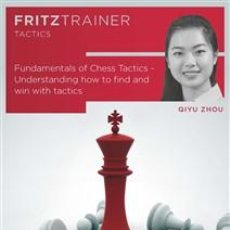 Coleccionismo deportivo: AJEDREZ. FUNDAMENTALS OF CHESS TACTICS UNDERSTANDING HOW TO FIND AND WIN WITH TACTIC - QIYU ZHOU DVD. Lote 210970417