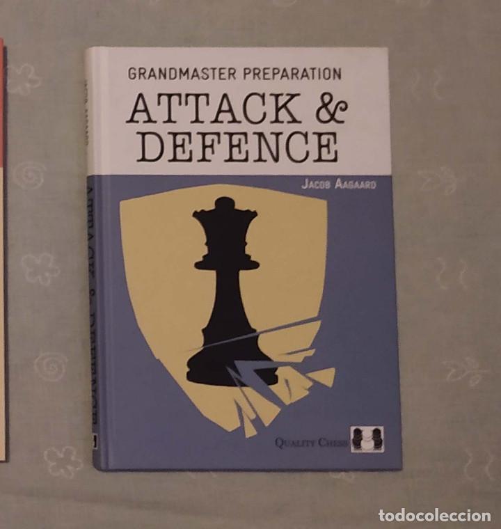 AJEDREZ. CHESS. GRANDMASTER PREPARATION - ATTACK AND DEFENCE - JACOB AAGAARD (TAPA DURA) (Coleccionismo Deportivo - Libros de Ajedrez)