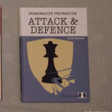 Coleccionismo deportivo: AJEDREZ. CHESS. GRANDMASTER PREPARATION - ATTACK AND DEFENCE - JACOB AAGAARD (TAPA DURA). Lote 211913205