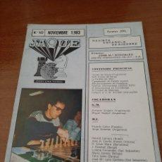 Coleccionismo deportivo: REVISTA JAQUE - Nº 142 - VER FOTOS PARA CONTENIDO - MUY BUEN ESTADO. Lote 213776932