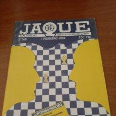 Coleccionismo deportivo: REVISTA JAQUE - Nº 146 - VER FOTOS PARA CONTENIDO - MUY BUEN ESTADO. Lote 213776973