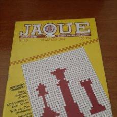 Coleccionismo deportivo: REVISTA JAQUE - Nº 149 - VER FOTOS PARA CONTENIDO - MUY BUEN ESTADO. Lote 213777071