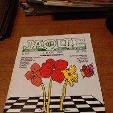 Coleccionismo deportivo: REVISTA JAQUE - Nº 153 - VER FOTOS PARA CONTENIDO - MUY BUEN ESTADO. Lote 213777172