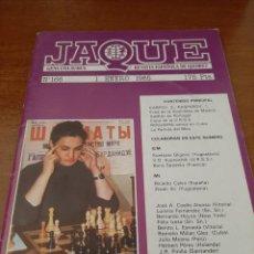 Coleccionismo deportivo: REVISTA JAQUE - Nº 166 - VER FOTOS PARA CONTENIDO - MUY BUEN ESTADO. Lote 213777368