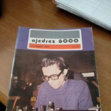 Coleccionismo deportivo: REVISTA AJEDREZ 6000 - Nº 64 - NOVIEMBRE 1976 - VER FOTOS PARA CONTENIDO - MUY BUEN ESTADO. Lote 213777536