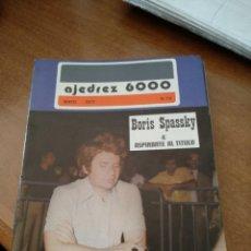 Coleccionismo deportivo: REVISTA AJEDREZ 6000 - Nº 70 - MAYO 1977 - VER FOTOS PARA CONTENIDO - MUY BUEN ESTADO. Lote 213777748
