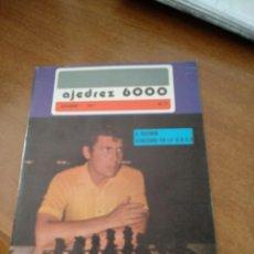 Coleccionismo deportivo: REVISTA AJEDREZ 6000 - Nº 77 - DICIEMBRE 1977 - VER FOTOS PARA CONTENIDO - MUY BUEN ESTADO. Lote 213777788