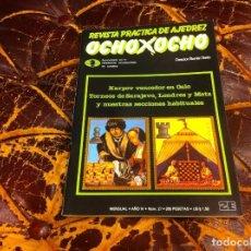 Colecionismo desportivo: REVISTA DE AJEDREZ. OCHO X OCHO. Nº 27. AÑO 1984. Lote 215247228