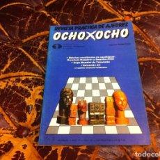 Colecionismo desportivo: REVISTA DE AJEDREZ. OCHO X OCHO. Nº 22. AÑO 1984. Lote 215247820