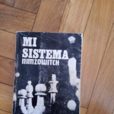 Collectionnisme sportif: MI SISTEMA. NIMZOWITCH. Lote 215320805