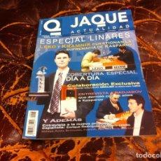 Collezionismo sportivo: REVISTA DE AJEDREZ. JAQUE. Nº 565. 2003.. Lote 215627116