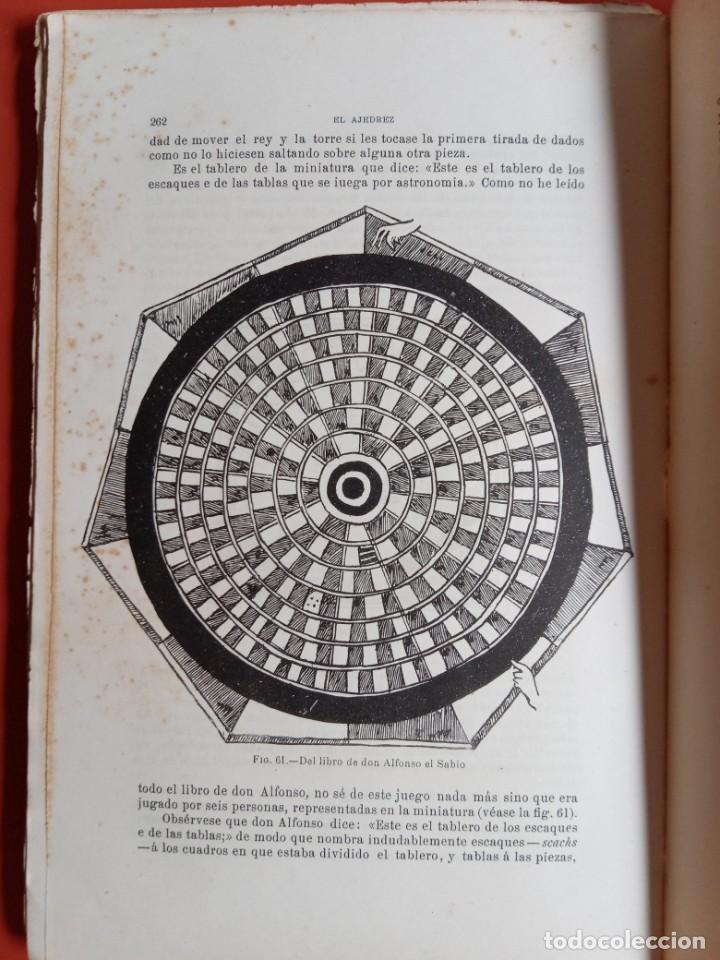 EL AJEDREZ - INVESTIGACIONES SOBRE SU ORIGEN - JOSE BRUNET Y BELLET - 1890 - ILUSTRADO (Coleccionismo Deportivo - Libros de Ajedrez)