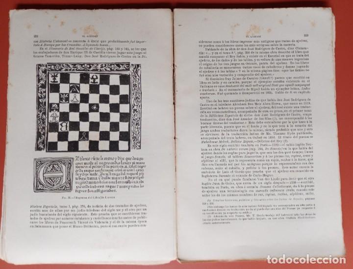 Coleccionismo deportivo: EL AJEDREZ - INVESTIGACIONES SOBRE SU ORIGEN - JOSE BRUNET Y BELLET - 1890 - ILUSTRADO - Foto 16 - 215799955