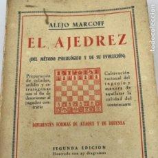 Coleccionismo deportivo: EL AJEDREZ, ALEJO MATCOFF. Lote 215990566