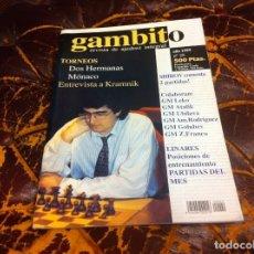 Collezionismo sportivo: REVISTA DE AJEDREZ. GAMBITO. Nº 29. AÑO 1999. Lote 215995073