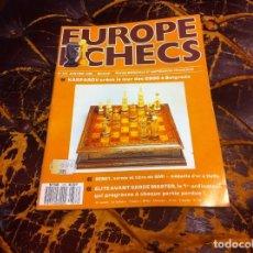 Collectionnisme sportif: REVISTA DE AJEDREZ. EUROPE ECHECS. Nº 373. AÑO 1990. Lote 215999598