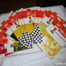 Collezionismo sportivo: 16 REVISTAS EL AJEDREZ,DEL Nº 0 1979 AL Nº 15 MARZO 1981. Lote 216377280