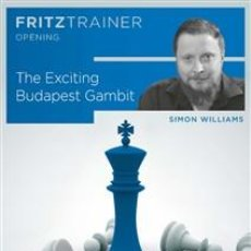 Coleccionismo deportivo: AJEDREZ. CHESS. THE EXCITING BUDAPEST GAMBIT - SIMON WILLIAMS DVD. Lote 216562563