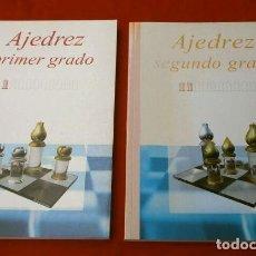 Coleccionismo deportivo: AJEDREZ PRIMER Y SEGUNDO GRADO (2003) AJEDREZ EN LA ESCUELA - J.CRESPO CARO - PARA INICIARSE JUGANDO. Lote 219746161