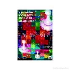 Coleccionismo deportivo: CHESS. LA FORMA CORRECTA DE JUGAR AL AJEDREZ + CD ROM - DAVID BRINE PRITCHARD. Lote 220115157