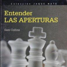 Collezionismo sportivo: ENTENDER LAS APERTURAS SAM COLLINS. Lote 220297166