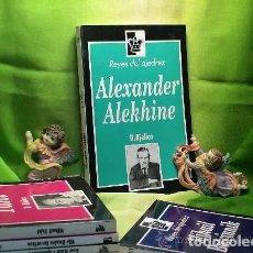 Coleccionismo deportivo: AJEDREZ. CHESS. ALEXANDER ALEKHINE - DIMITRIE BJELICA DESCATALOGADO!!!. Lote 220348776