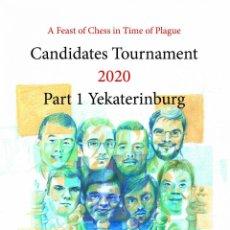 Coleccionismo deportivo: AJEDREZ. CHESS. CANDIDATES TOURNAMENT 2020 PART 1. YEKATERINBURG - VLADIMIR TUKMAKOV. Lote 220519173