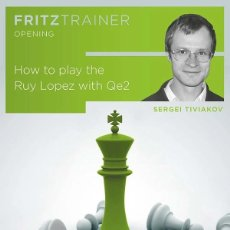 Coleccionismo deportivo: AJEDREZ. CHESS. HOW TO PLAY THE RUY LOPEZ WITH QE2 - SERGEI TIVIAKOV (PC-DVD). Lote 220810706