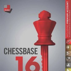 Coleccionismo deportivo: AJEDREZ. CHESS. CHESSBASE 16. STARTER PACKAGE -THE CHESSBASE TEAM DVD. Lote 68716793
