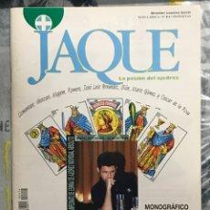 Coleccionismo deportivo: REVISTA AJEDREZ JAQUE NÚMERO 414 DICIEMBRE 1995 MONOGRÁFICO CAMPEONATO ESPAÑA. Lote 225213870