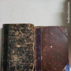 Collectionnisme sportif: EL ABUELO Y JUAN AÑO 1890 LOTE DE 2 LIBROS ESTADO NORMAL MAS ARTICULOS. Lote 226792335