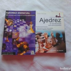 Coleccionismo deportivo: LIBROS DE AJEDREZ PARA PRINCIPIANTES. Lote 227487340