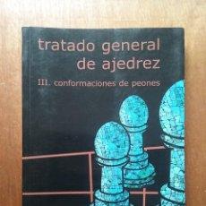Coleccionismo deportivo: TRATADO GENERAL DE AJEDREZ, CONFORMACIONES DE PEONES, ROBERTO GRAU, EDITORIAL LA CASA DEL AJEDREZ. Lote 231993125