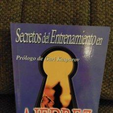 Collezionismo sportivo: SECRETOS DEL ENTRENAMIENTO DE AJEDREZ. DVORETSKY. NERAN. Lote 232003850