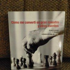 Colecionismo desportivo: COMO ME CONVERTÍ EN GM. NIMZOWITCH AJEDREZ. Lote 232004715
