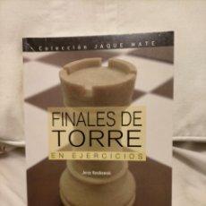 Collectionnisme sportif: FINALES DE TORRE. KONIKOWSKI. AJEDREZ. Lote 232066515