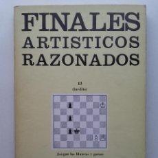 Coleccionismo deportivo: FINALES ARTISTICOS RAZONADOS. AJEDREZ - JOSE MUGNOS - 1976. Lote 232410535