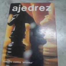 Coleccionismo deportivo: PRPM 29 AJEDREZ MAESTRO CONTRA AMATEUR. M. EUWE Y W. MEIDEN. Lote 235332860
