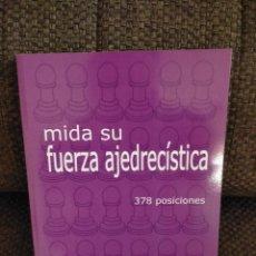 Coleccionismo deportivo: MIDA SU FUERZA AJEDRECÍSTICA VOLUMEN 3 / AUGUST LIVSHITZ / AJEDREZ. Lote 235685705