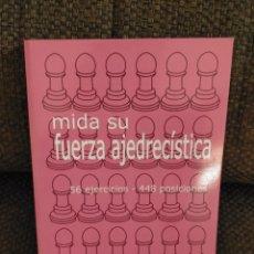 Coleccionismo deportivo: MIDA SU FUERZA AJEDRECÍSTICA VOLUMEN 2 / AUGUST LIVSHITZ / AJEDREZ. Lote 235685740