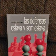 Coleccionismo deportivo: DEFENSAS ESLAVA Y SEMIESLAVA FLEAR AJEDREZ. Lote 236073270